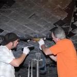 Shuttle Tile Install
