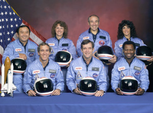 Space Shuttle Challenger Crew