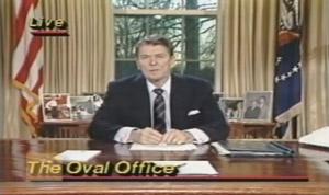 President Reagan Challenger Speech
